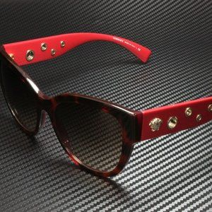 Versace Brown/Red Sunglasses! NEW!